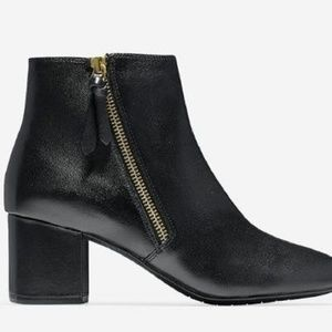 Cole Haan Black Saylor Grand Boots 6.5